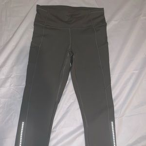 Lululemon fast and free crop 19""